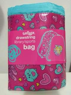 BN Smiggle Drawstring bag