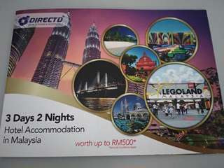 3D2N RM500 Hotel Voucher in Malaysia