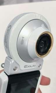 🚚 🌲Casio Ex-FR100L 白色 美顏相機 自拍不求人