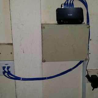 Data / LAN Point For Weak WiFi Signal