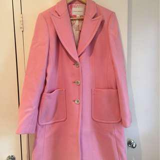 BANANA REPUBLIC pink coat