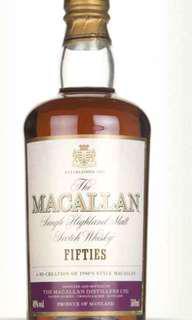 Whisky - Macallan Fifties