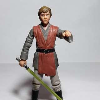 Star wars luke skywalker evolutions 3.75 loose