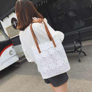 Summer Lace Shoulder Bag