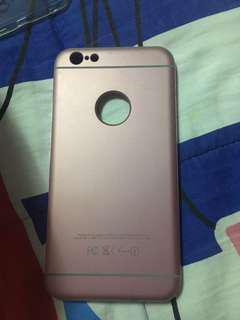 Pink full case iphone 6s plus