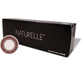 Bausch and Lomb Naturelle Contact Lenses (Brown)