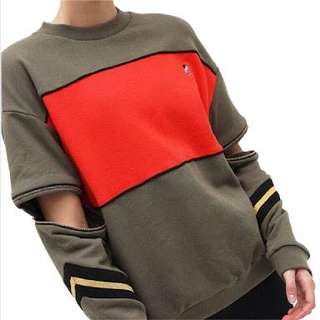 *WANTING** P.E Nation Tri-coloured khaki jumper sweater pullover