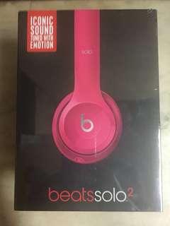 100% new Beats Solo 2 earphone 耳機
