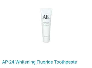 Ap-24 whitening flouride toothpaste