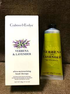 Crabtree & Evelyn Verbena & Lavender Hand Therapy 100g