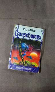 Goosebumps R.L.Stine Monster dadi timur.