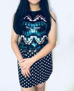 Top+ skirt #maudecay