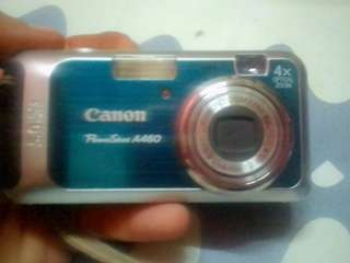 Canon power shot A460 5.0 MEGA PIXELS 4×optical zoom