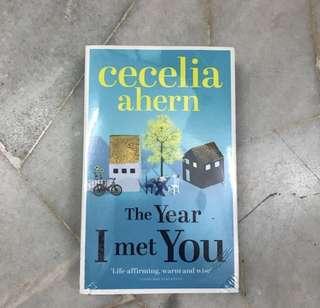 #July100 The Year I Met You- Cecelia Ahern