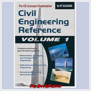 Civil Engineering Reference Vol 1`by Gillesania