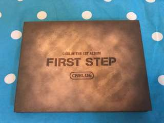 CNblue first step 淨專
