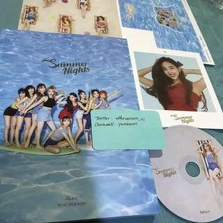 Twice Summer Nights DTNA Official Album Nayeon Dahyun Set