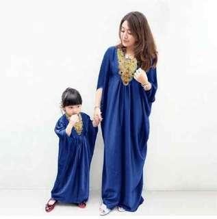 Couple Caftan mom + kid