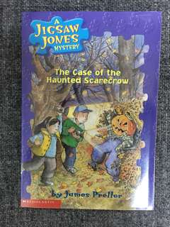 A Jigsaw Jones Mystery: The Case of the Haunted Scarecrow