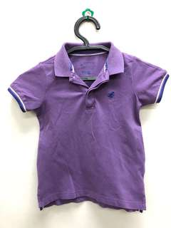 Giordano Purple Polo Shirt