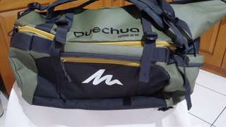 Quechua trekking bag (voyage expand 40-60 litre)