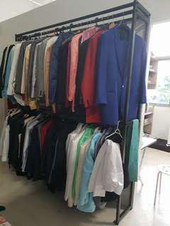 Wardrobe Rack. Suitable for retail.