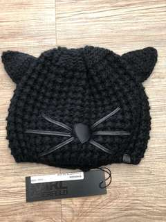 🚚 全新Karl Lagerfeld貓帽子