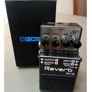BOSS Reverb RV-6