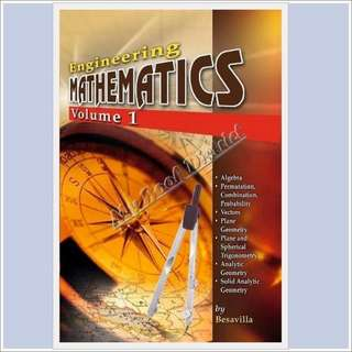 Engineering Mathematics Vol 1 & 2 by Besavilla