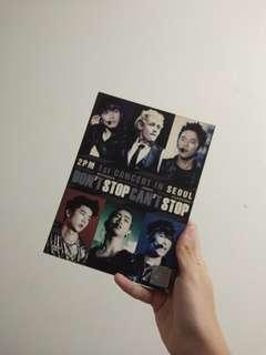2PM 1st Concert in Seoul DVD