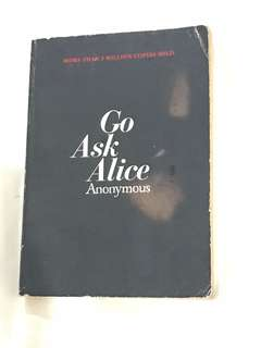 Go Ask Alice anonymous author