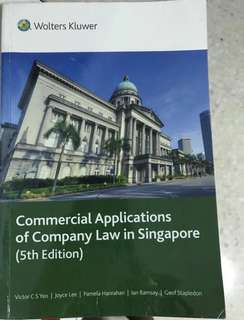 Commercial applications of company law in Singapore