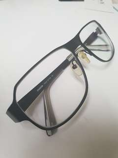 Spectacles with PC lens