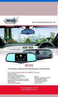 Smart mirror - Gps - driving recorder - bluetooth