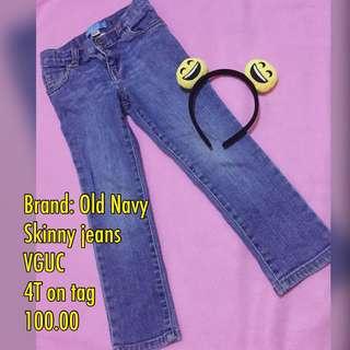 Preloved girls jeans