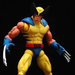 💯 Marvel Legends Wolverine BAF Yellow Red Hulk Edition