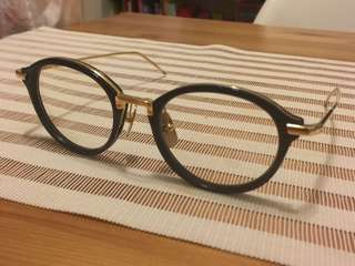 Thom Browne tb-011 dita yellow plus native sons