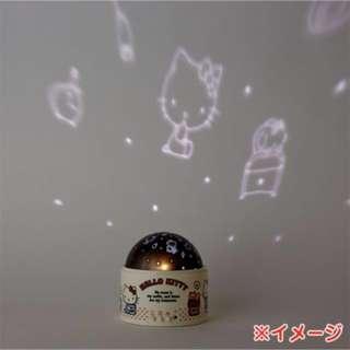 Hello Kitty黑夜投影燈