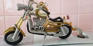 🚚 Motorcycle handcraft decorations