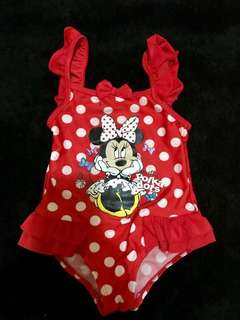 Mothercare Minnie Mouse 1 pc. swimsuit