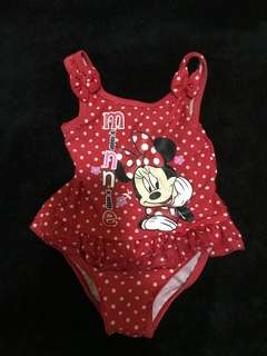 Mothercare Minnie Mouse 1 Pc Swimsuit