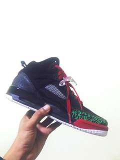 Air Jordan Spizike (Black Varsity Red)