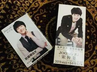 SONG JOONGKI Postcards