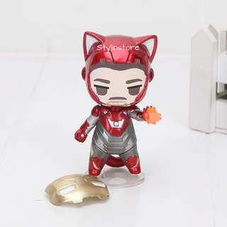 Marvel's Iron Man Cat Version Action Figure (Very Detailed and Super Cute like Funko)