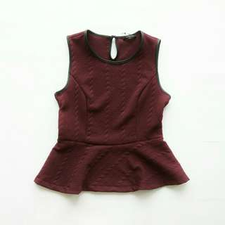 Peplum Top The Executive (Baju Atasan) #maudecay