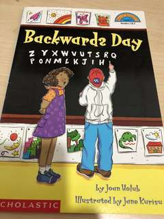 Backwards Day Scholastic Reader