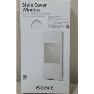 SONY Z5P SCR46開窗智慧型視窗原廠皮套