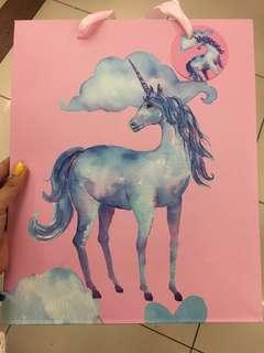 Unicorn big paperbag
