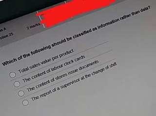 ACCA CBE exam test
