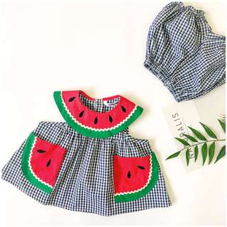 Baby Girl Watermelon Set